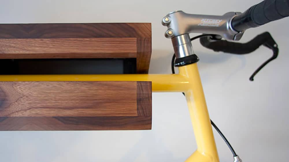 Etagère Bike Shelf, ou comment mélanger l'utile au design