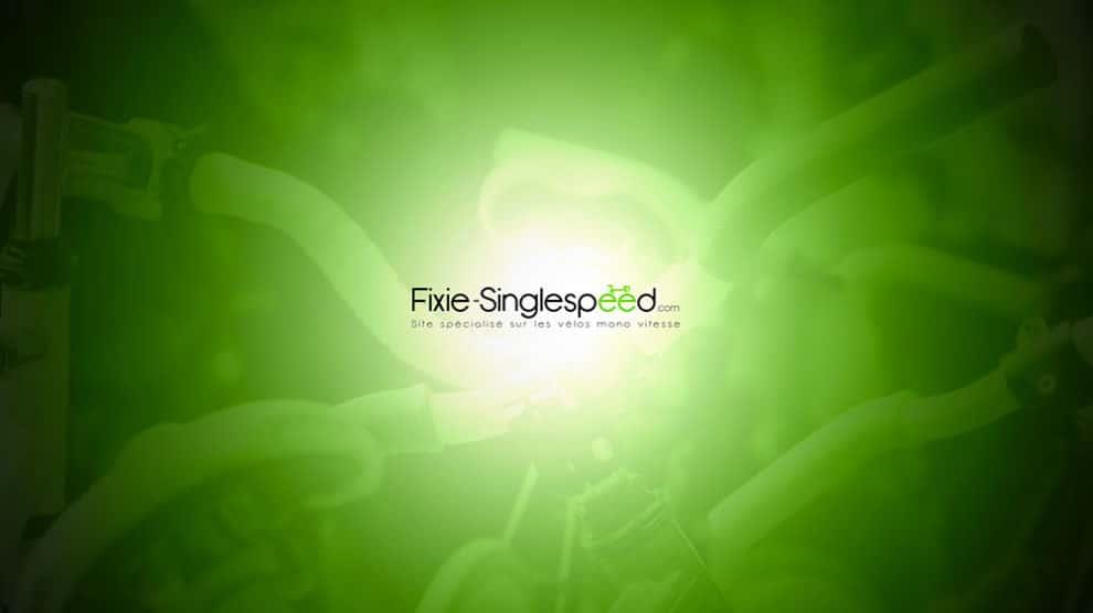 Un beau fond d'écran Fixie Singlespeed