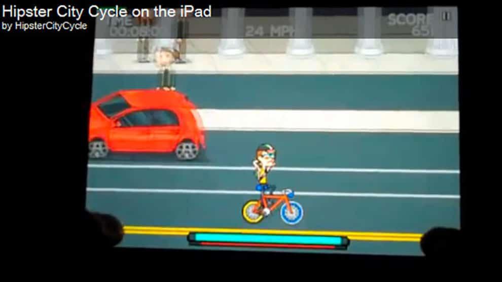 Le jeu Hipster City Cycle débarque sur iPad