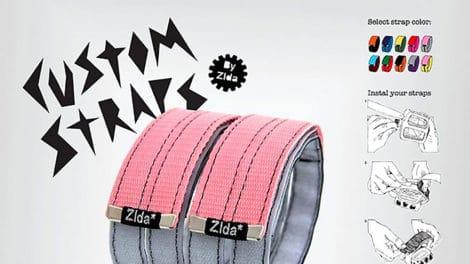 Les Custom Straps de chez Zlda spécial fixie