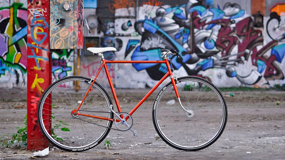 Transformation d'un Gitane de 1975 en Single Speed