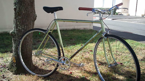 Transformation d'un Motobecane en single speed