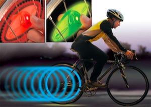Lumière pour rayons de vélo SpokeLit de Nite Ize