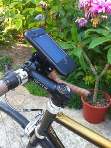 Support iPhone étanche pour tous types de vélos