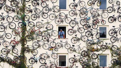 Une boutique de vélo allemande complétement folle !