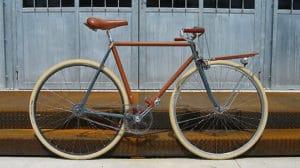 Porteur Bike, fixie réalisé par Ateliers d'Embellie