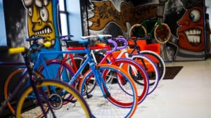 Big Shot Custom Fixed Gear Bikes
