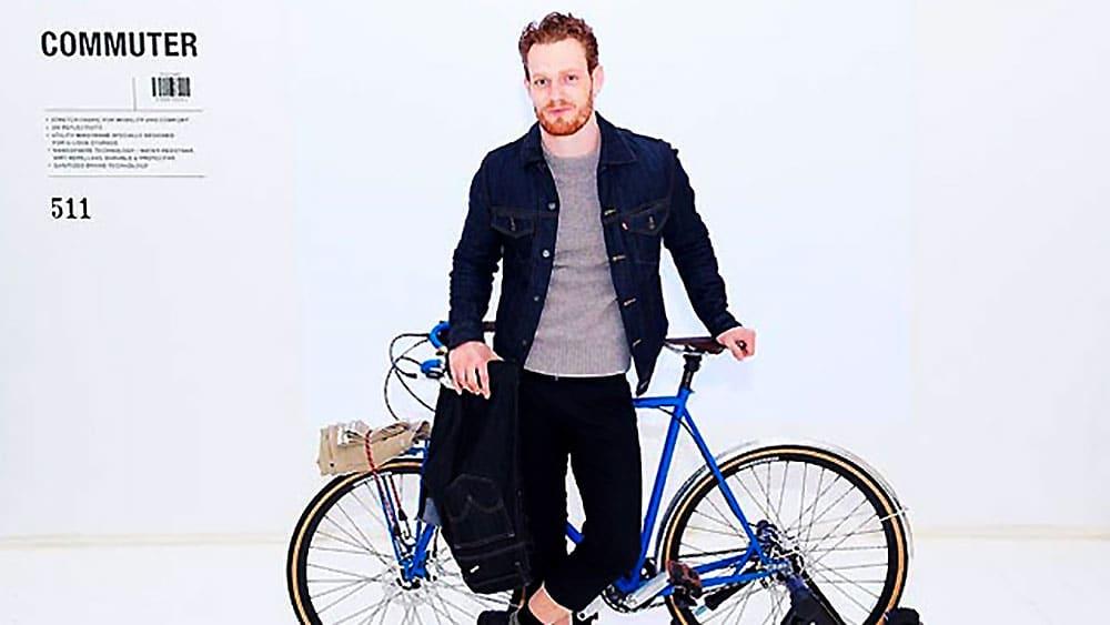 Levi's présente son jean conçu pour le vélo !