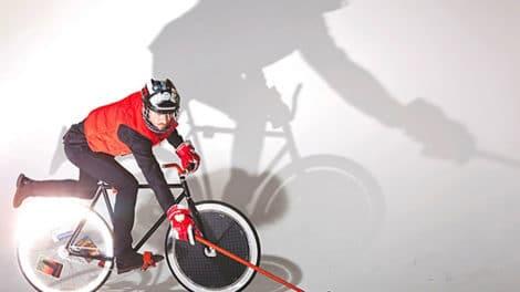 La marque Louis Vuitton se met au bike polo !