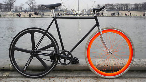 "Le pignon fixe ""Paris Beater"" de Vincent"