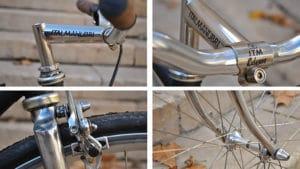 Vélo singlespeed Reynolds par Dead is Hype