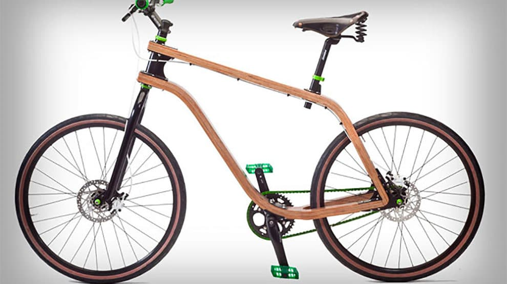 Bonobo Plywood Bicycle, le design à l'état brut par Stanislaw Ploski