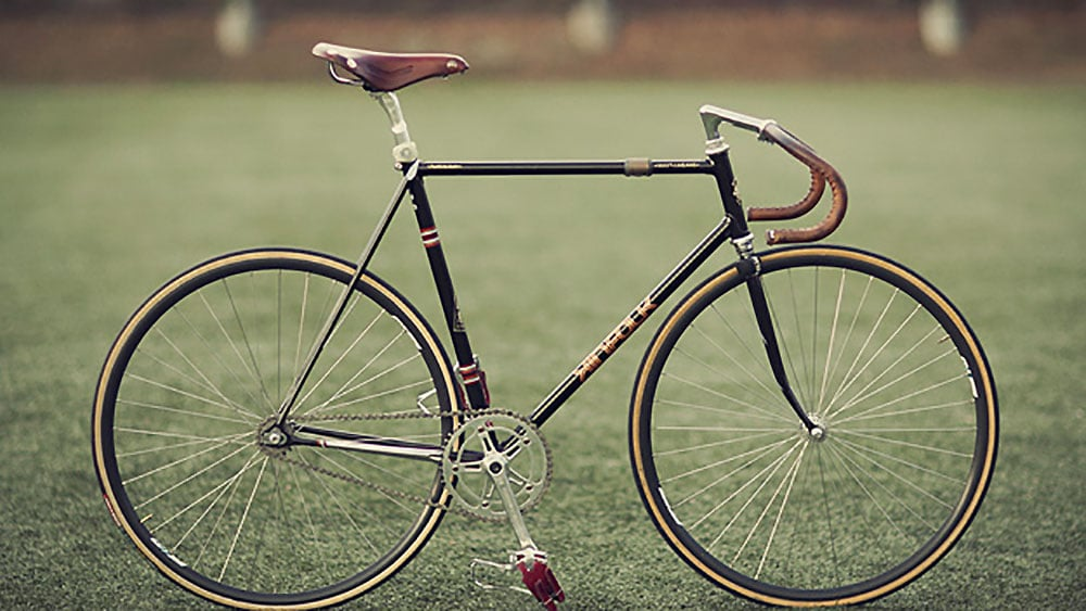 Vélo Kinfolk, run with the love hunted fixie