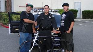 Pops Fabrication Serie 8 de vélos pour la police