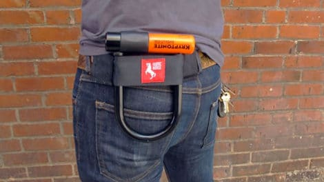 U-Lock Holster par The Original Fabric Horse