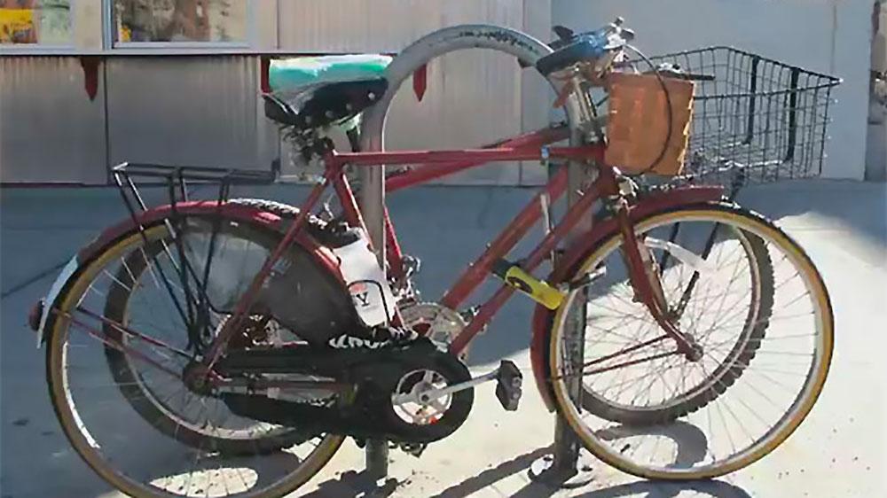 La triste mort d'un vélo en plein New York