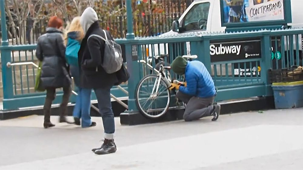 Bike Thief test le vole de vélos dans les rues de New York