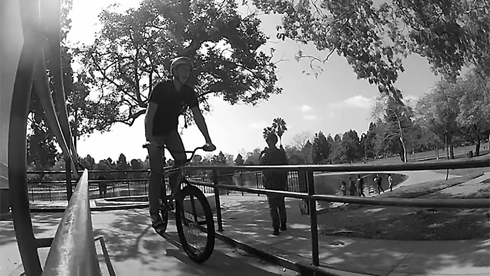 Grant Higgins en freeride Fixie