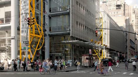 Bike Hanger, le parking à vélos, vertical et urbain !