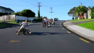 Du drift en tricycle la nouvelle mode en Californie !