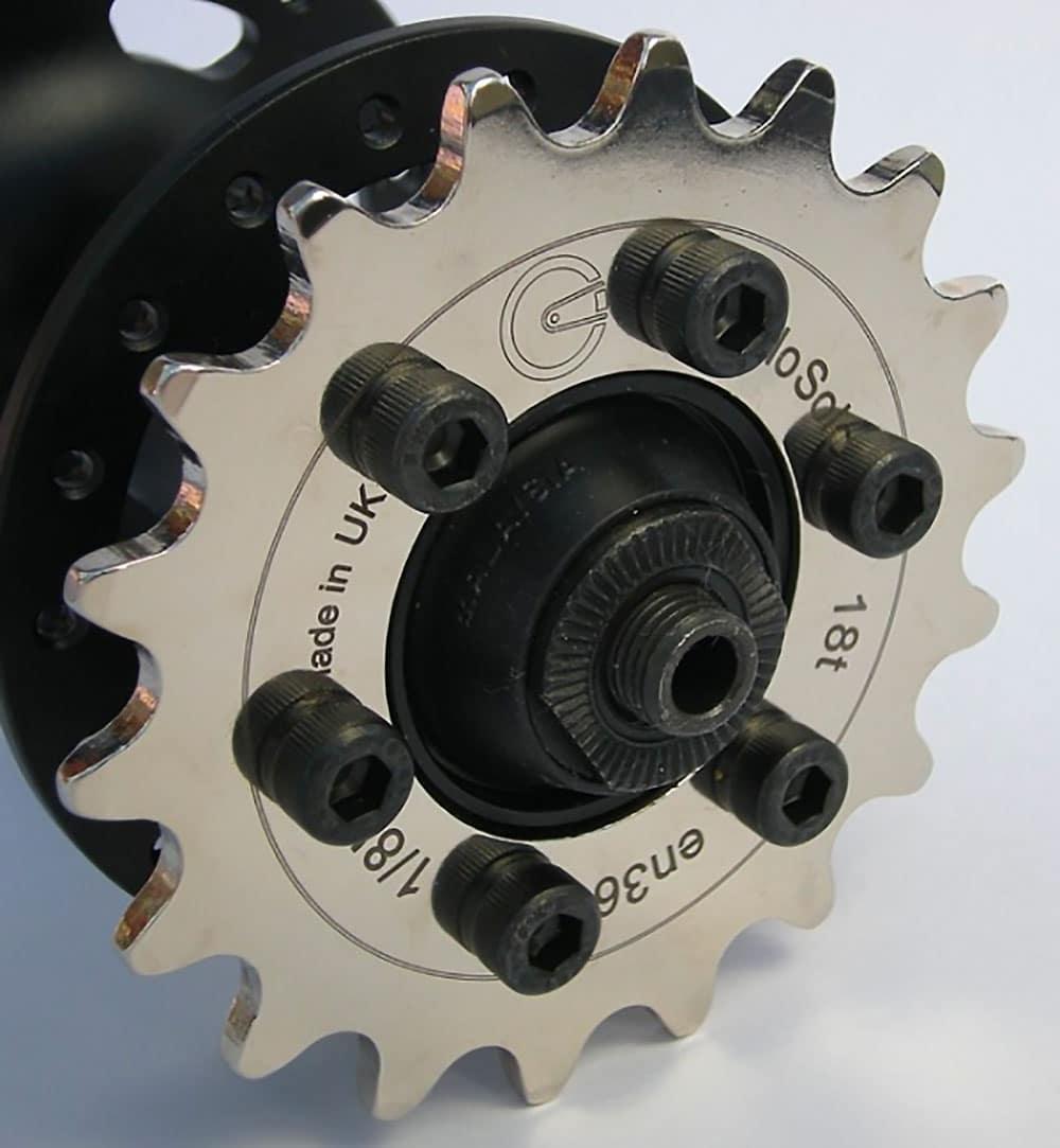 Monter un pignon fixe sur une roue pour frein à disque