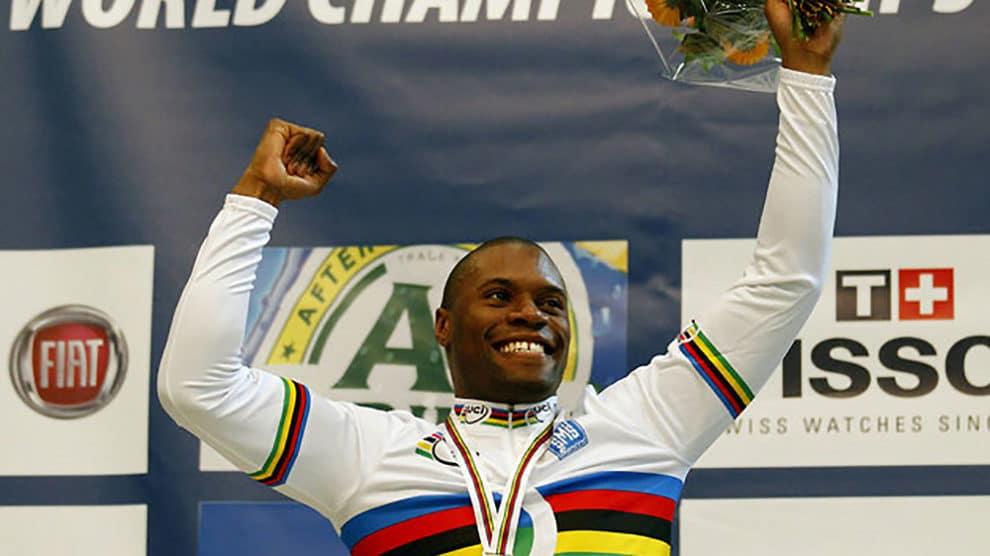 Grégory Baugé champion du monde de vitesse sur piste