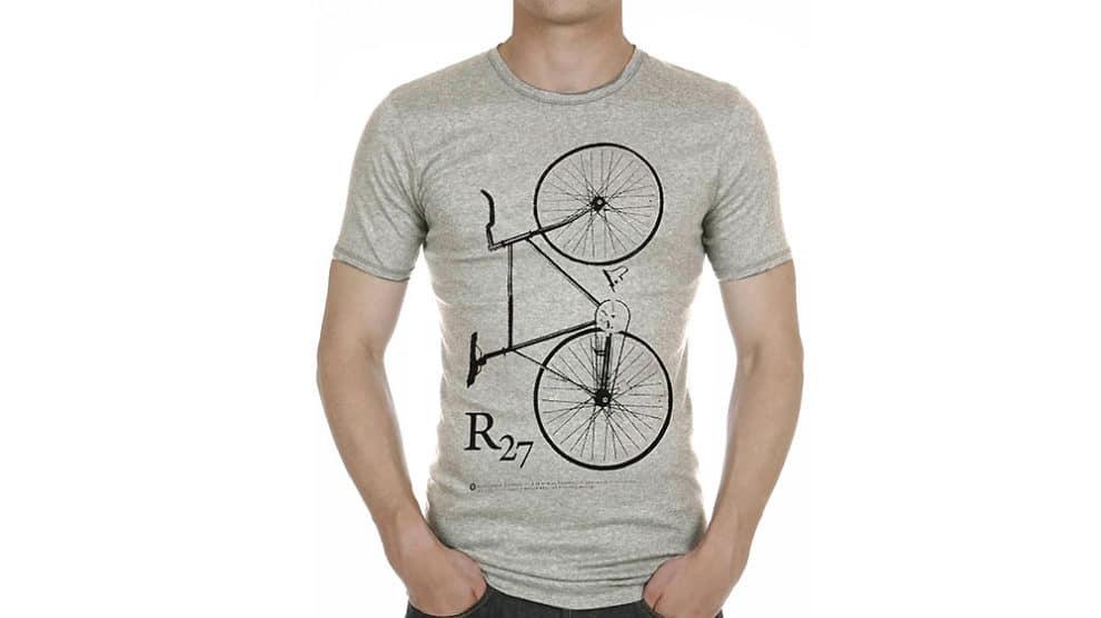 T-shirt à la mode fixie pour la marque H&M