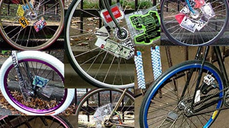 Spoke Card à la mode fixie from New York