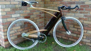 Wood fixed bike de mister Ken Stolpmann