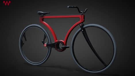 Le Twist Bike un concept singlespeed étonnant