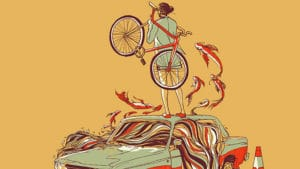 Chalermphol Harnchakkham, illustrateur pignon fixe