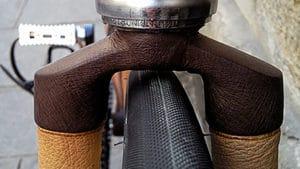 Quand un tailleur de cuir habille un fixie !