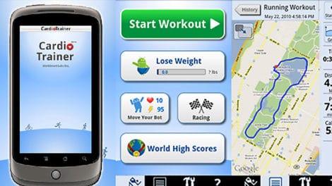 CardioTrainer, application Android bien utile