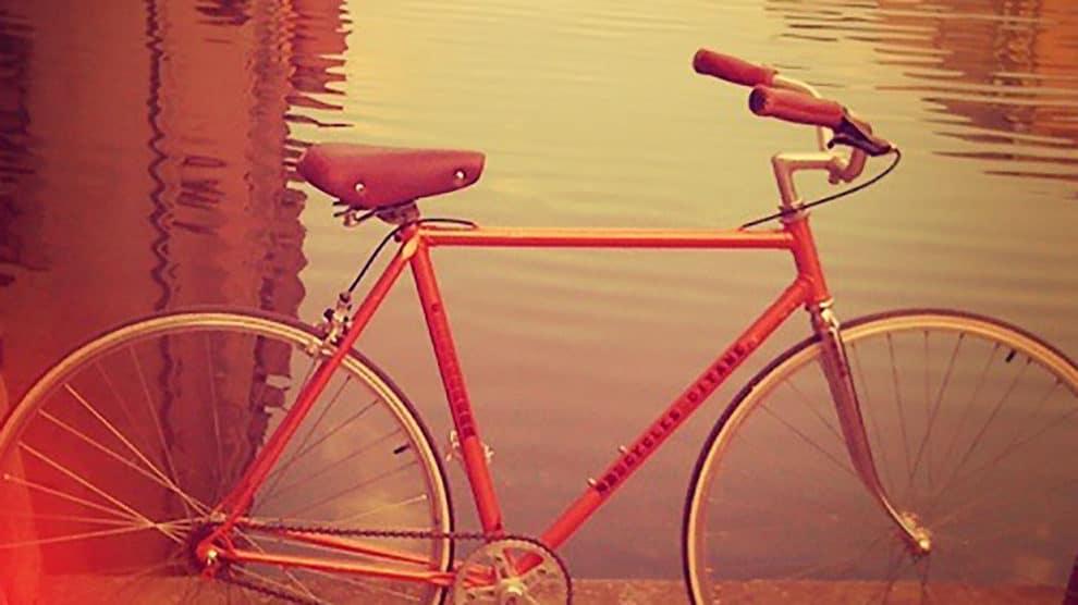 Vélo de course Gitane transformé en singlespeed