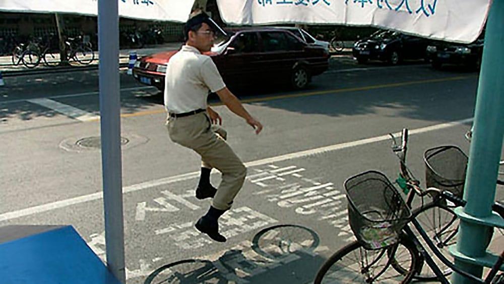 Floating Bike par le photographe Zhao Huasen