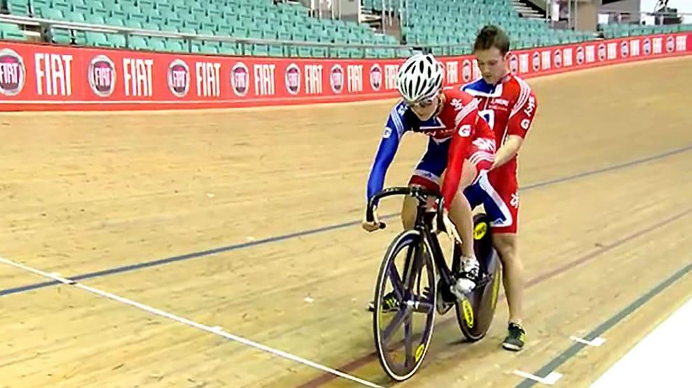Leçons vélodrome avec Victoria Pendleton