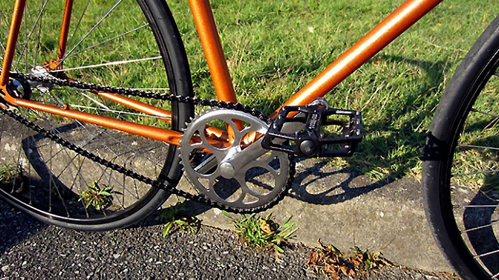 Singlespeed Jacques Anquetil sauvé des poubelles !
