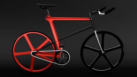 Le nouveau concept bike du nom de Z-Fixie