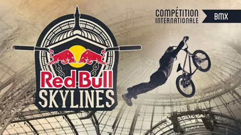 Red Bull Skylines, compétition de BMX au Grand Palais de Paris