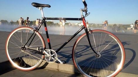 Modification d'un vieux Motobécane en bike flip/flop