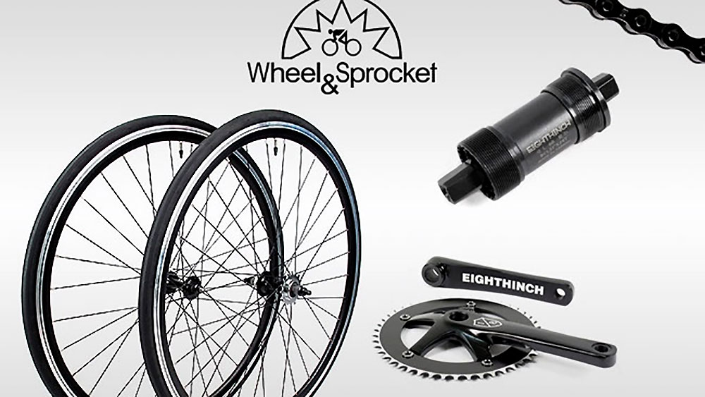 Whell & Sprocket, kit complet de conversion fixie