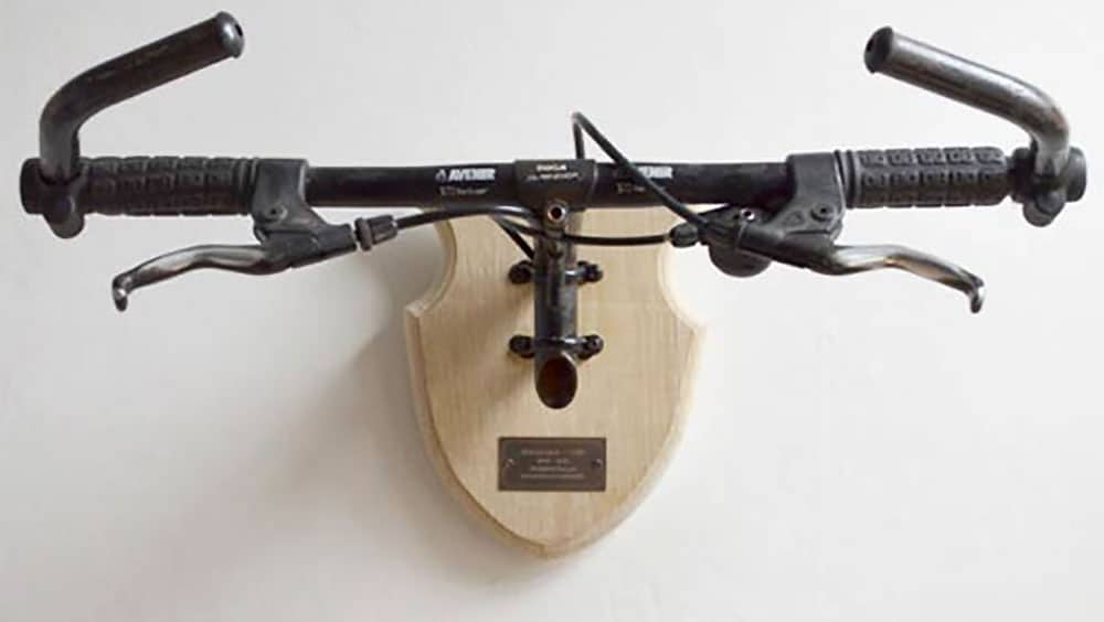Bicycle Taxidermy, hommage à nos guidons ou nos cintres !