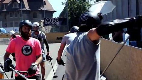 Championnats du Monde de Bike Polo 2012 à Genève