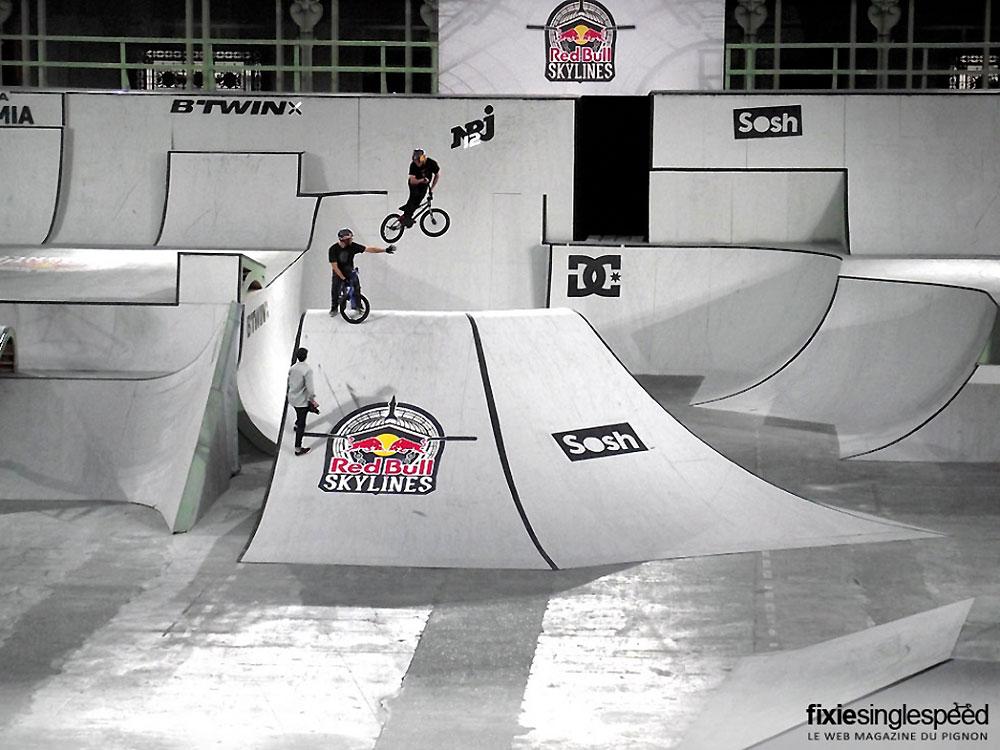 EXCLUSIVITE les premières images du Red Bull Skylines
