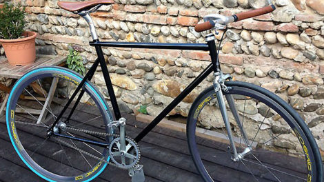 Conversion d'un Singlespeed sur la base d'un MBK Trainer