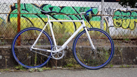 Gitane Singlespeed de l'usine Machecoul