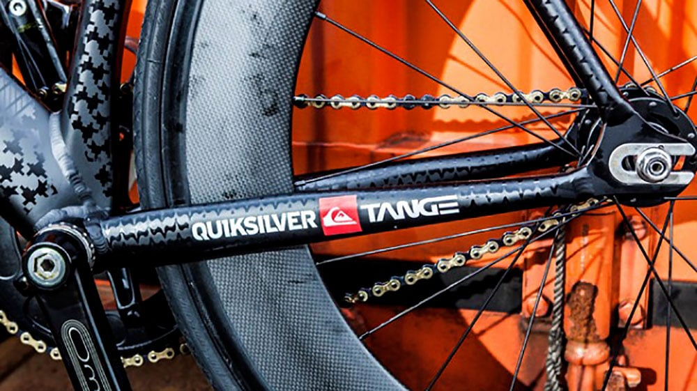 Collaboration entre Quicksilver et Tange !