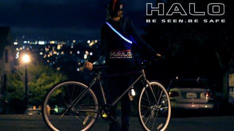 Halo Belt, la ceinture de sécurité lumineuse