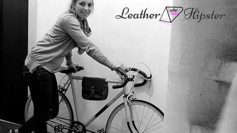 Leather Hipster, le pignon fixe au féminin