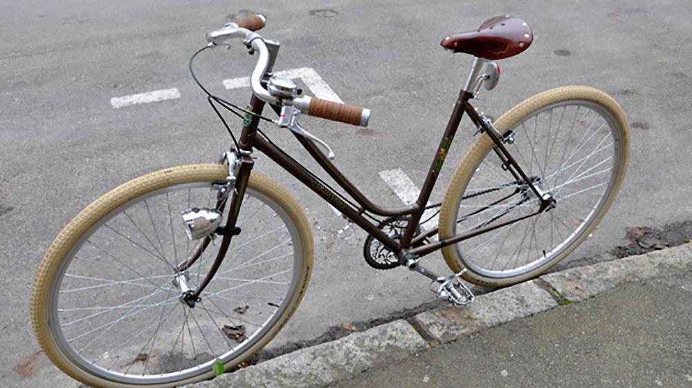 Le Peugeot retro vintage singlespeed de Mary